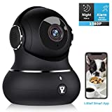 Indoor Wireless Security Camera, [2020 Newest] Littlelf Smart 1080P Home WiFi IP Camera