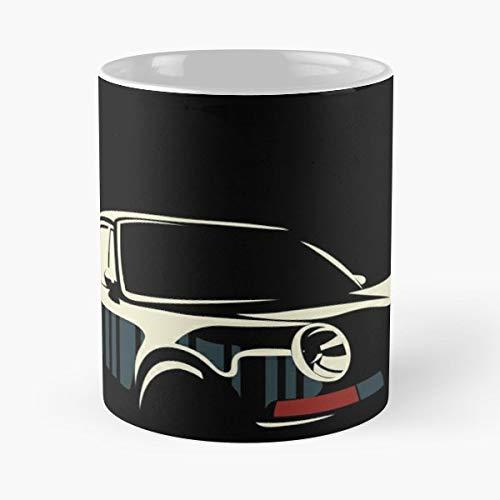 Cars Porsche Classic Vintage Automotive Car Racing 911 Carrera Sports - Best 11 oz Kaffee-Becher - Tasse Kaffee Motive