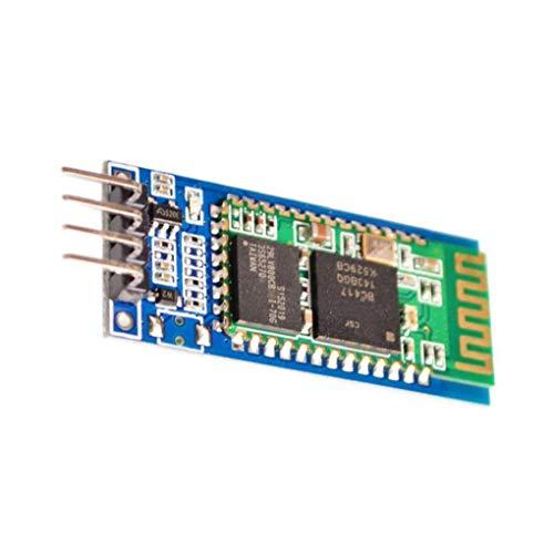Odoukey Drahtlose serielle Bluetooth-Transceiver Support Modul 4-pin Slave-Modus Hc-06 Kompatibel mit Arduino