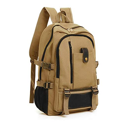 LISRUI Tactical Military Backpack Travel Leisure Large Capacity Outdoor Climbing Tactical Bag for Mountaineering Climbing Trekking Sport Travel – 41 x 30 x 13 cm Dark Khaki