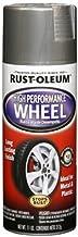 Rust-Oleum 248927 Automotive High Performance Wheel Spray Paint, 11 oz., Steel