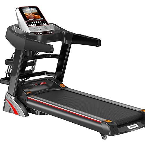YFFSS Ultra Alta Capacidad Paseo de la aptitud eléctrico cinta de correr, Quiet Home cinta de correr, fitness plegable en color de pantalla táctil inteligente eléctrica cinta de correr, gimnasia Herra