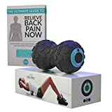 Vibe Rollers Hex Pro - Deep Tissue Vibrating Foam Roller - Ideal Massager For Sore Back Includes Back Pain Relief E-Guide | Use On Calf, Shoulder, Foot, Leg muscles