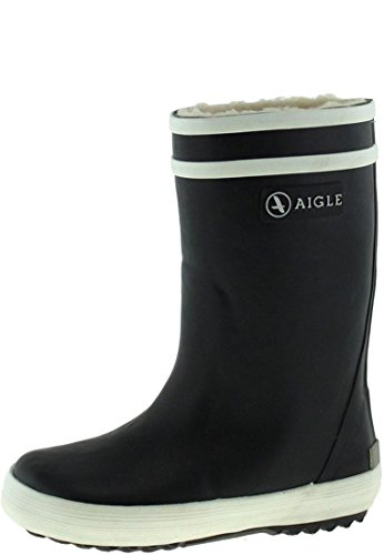 Aigle Lolly Pop Fur Gummistiefel, Unisex-Kinder Gummistiefel, Blau (marine 0), 26 EU (8.5 UK)