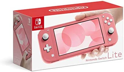 Nintendo Switch Lite Coral Switch product image