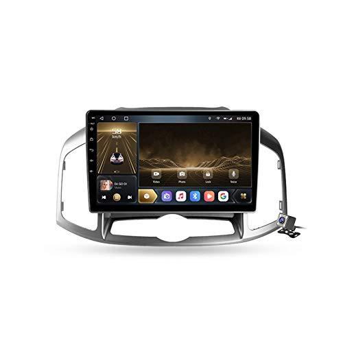 Buladala Android 10 GPS Autoradio Navigazione Stereo per Chevrolet Captiva 1 2011-2016, con 9'' Touch Screen Supporto Sistemi Video/Chiamate BT/FM AM RDS DSP/Carplay,M300