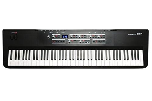 Kurzweil SP1 - Pianoforte a 88 tasti, colore: Nero (SP1-LB)