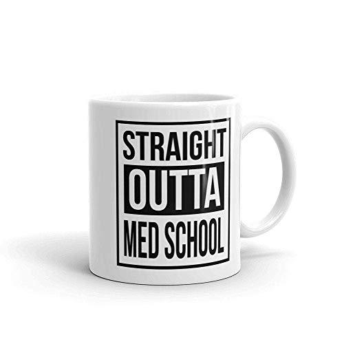 NA Taza de café para Estudiantes de Medicina de la Escuela de Medicina, Taza de Regalo para médicos de graduación, Taza de café para médicos, Regalo para graduados de médicos