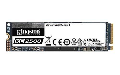 Kingston Kc2500 Nvme Pcie Ssd -Skc2500M8/500G M.2 2280, 500 Gb