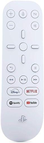 Sony Télécommande Multimédia PS5, Compatible avec PlayStation 5, Couleur : Blanche