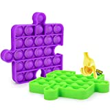 MMTX Pops it Bubble Sensory Fidget Push Puzzle Toys, Pops It Fidget Juguete Sensorial para Aliviar El Estrés Juguete, Autismo Necesidades Especiales, Fun Squeeze Toys & Educational Gift Toys for Kids