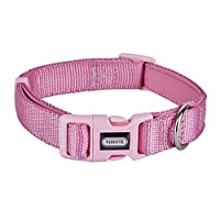 """Medium Size (M): Neck: 12 - 18.5""""(30 - 47cm),Width: 3/4""""(2.0cm);Please measure your dog's neck size with a soft tape measurement when he stands up and add 1-2"""" to buy a proper size Durable Nylon webbing with strengthened stitching,premium hardware an..."""