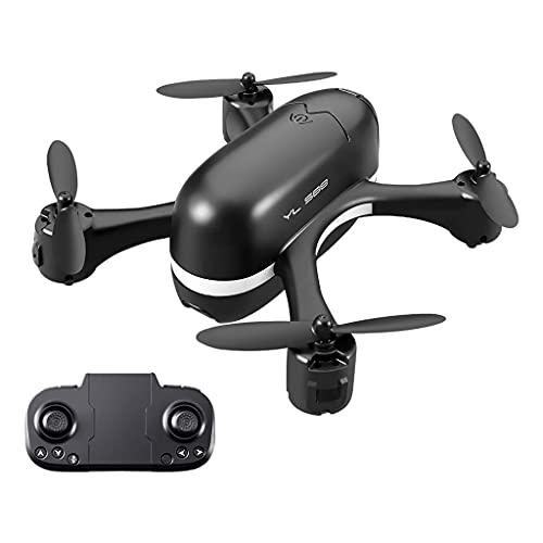 Ricambi RC Accessorio Mini Drone 4CH Compatibile con Bambini Adulti Quadricottero RC tascabile con batterie LED Cool Loght One Key Return Compatibile con Principianti Ragazzi Ragazze 1 fotocamera