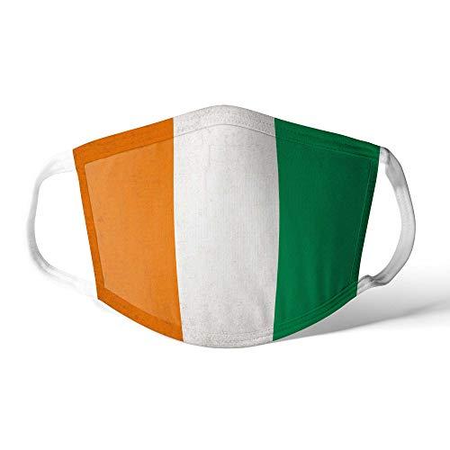 M&schutz Maske Stoffmaske X Groß Notleidende Flagge Elfenbeinküste Wiederverwendbar Waschbar Weiches Baumwollgefühl Polyester Fabrik