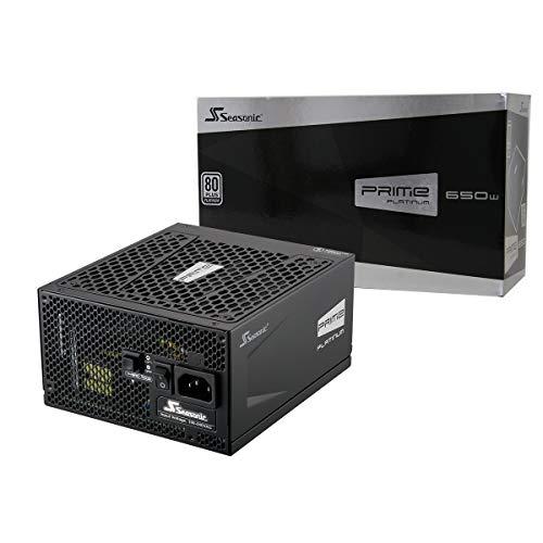 Seasonic Prime Platinum Alimentatore Modulare da 650W, Nero