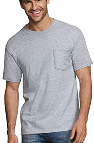 Hanes ComfortBlend® Men's Perfect T Dyed Pocket Crewneck Undershirt 3-Pack - 2576H3 (S)