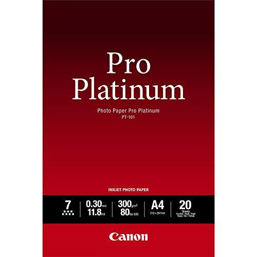 CANON PT-101 Fotopapier Pro Platinum A2 20 Blatt