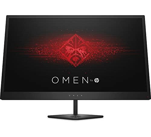 HP OMEN 25 – Monitor Gaming de 24,5' Full HD (1920 x 1080 a 144Hz, TN, 1ms, HDMI, Antirreflejo, Inclinación Ajustable) Negro