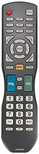 New LD200RM Remote Control fit for Apex LED LCD TV JE3708 LD3288 LD4688 LD4688T LE40H88 LE4012 LD4088 LD4688T sub LD220RM LD4088RM