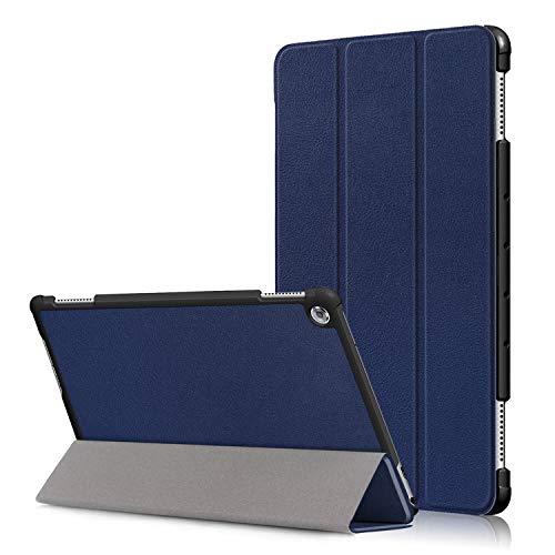 Acelive Cover per Huawei M5 Lite, Slim Custodia con Funzione di Auto Sveglia/Sonno Case Protettiva in Pelle PU per Huawei Mediapad M5 Lite 10 10.1 Pollice