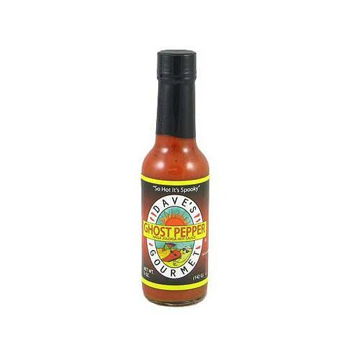 Daves Gourmet Ghost Pepper Jolokia Sauce