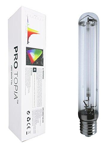 PROTOPIA HPS Grow Light Bulb Lights HPS600WT46 600 Watt High Pressure Sodium Growing Lights, 2000K, 90000Lumens, for Indoor Plants, a Classic Choice