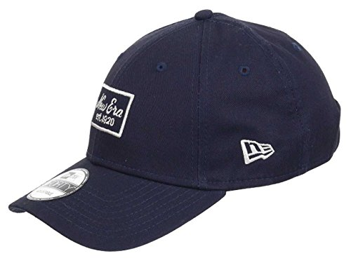 New Era Cappellino 9Forty Script Patch baseball cap cotton Taglia unica - blu scuro