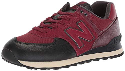 New Balance Ml574v2 Herren-Sneaker, Rot - Burgunderrot - Größe: 49 EU