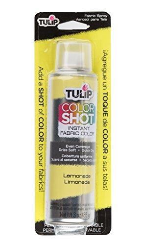 Tulip ColorShot Instant Fabric Color 3oz. Lemonade