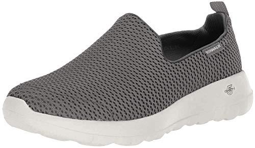Skechers womens Go Joy Walking Shoe, Charcoal, 8 US