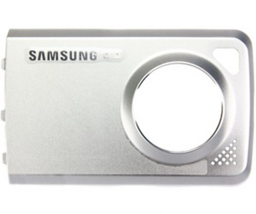 Akkudeckel Akkufackdeckel Back Cover Samsung M8800 silber