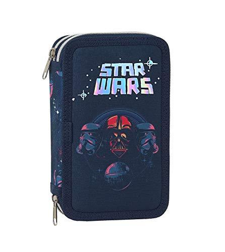 Star Wars Bolsa de Plumas, Plumero 28-teilig Lleno Caja de Lápices Primavera Niños Merchandising