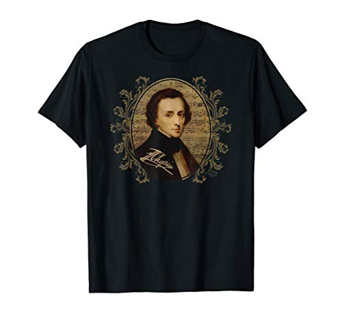 Frederic Chopin Shirt Classical Music Lovers Pianist Gift