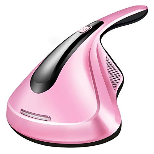 LIULINAN Staubsauger Bett Home Collector UV Acarus Tötung Haushalt Staubsauger Für Haus Matratze Milben-Töten,Pink