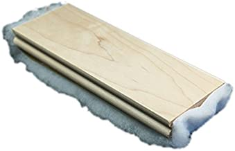Cadillac Shoe Shine Buffer   Handheld Cloth Buff Brush Polisher + Shine Enhancer - Perfect for Cobblers Shoe Shine Kit