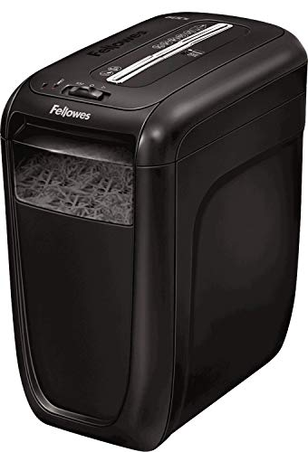 Fellowes 4606101 Destructeur de documents 60Cs Coupe Croisée 10 feuilles avec technonogie SafeSense de détection tactile