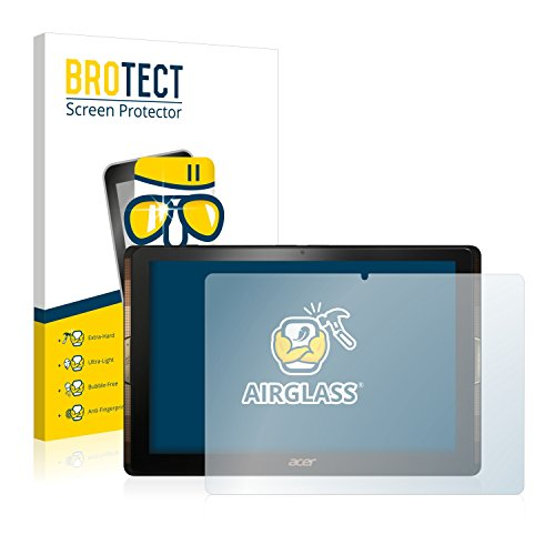 BROTECT Panzerglas Schutzfolie kompatibel mit Acer Iconia Tab 10 A3-A40-9H Extrem Kratzfest, Anti-Fingerprint, Ultra-Transparent