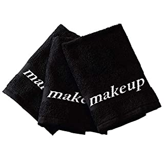 Black Make-up Washcloths, 6 Piece Set (B00GWVWTV4) | Amazon price tracker / tracking, Amazon price history charts, Amazon price watches, Amazon price drop alerts