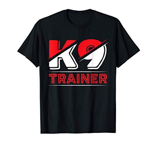 K9 Dog Trainer Doggy Training Puppy Handler K-9 Unit T-Shirt