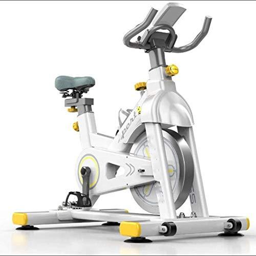 WJFXJQ Bicicleta de Ejercicios para el hogar de la Bicicleta de Ciclismo con cómodo cojín de Asiento, Soporte de teléfono multifunción, Equipo de Aptitud física Interior ultrarrápidamente