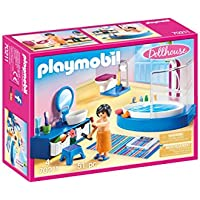 Playmobil Bathroom with Tub 51-Piece Furniture Pack