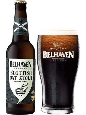 6 Flaschen Belhaven Scottish Oat Stout Beer 0,5 l 7% Alc. aus Schottland Bier