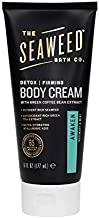 The Seaweed Bath Co. Detox/Firming Detox Cream, Awaken Scent, Rosemary & Mint, 6oz.