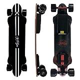 Teamgee H20 Electric Skateboard with Remote Long Boards Skateboard Designed 26PMH Top Speed, Hub Motors 1080W, 18Miles Range, 4 Speed Adjustment (H20)