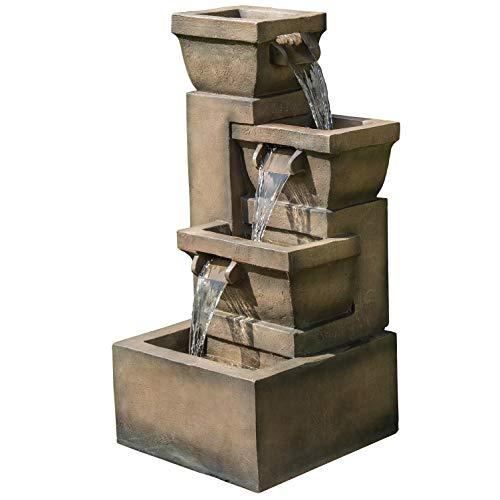 Bond Manufacturing Y98881 Ashboro 33 inch Zen Fountain