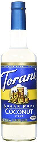 Kokosnuss / Coconut Zuckerfreier Sirup von Torani 750ml