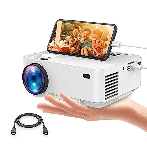Proyectores LCD Tecnología LED 3000 S Soporte HD 1080P Soporte de Cine en casa Multimedia HDMI Video USB SD Vga Tarjeta AV