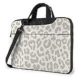 Bolso para portátil Estampado Leopardo con Estampado marrón, maletín de Negocios