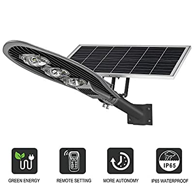 LED Solar Street Light Powered Outdoor