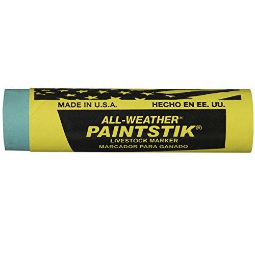 Paintstik Tiermarker, wetterfest, 2,5 cm Durchmesser x 10 cm Länge, Grün, 12 Stück